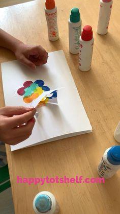 Art Activities For Kids, Infant Activities, Preschool Activities, Art For Kids, Free Preschool, Preschool Worksheets, Preschool Crafts, Flower Outline, Spring Theme