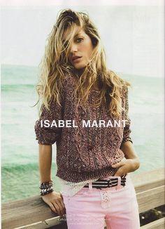 Giselle Bündchen for Isabel Marant