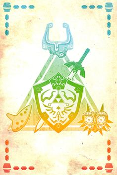 The Legend of Zelda, Majora's Mask, Ocarina of Time, Twilight Princess
