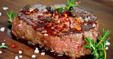 Need an excellent steak choice for that special dinner that's stress-free and easy? Then go for a ribeye that never fails to guarantee a delicious, juicy steak. It's the ultimate steak for so many reasons. Steak Marinade Best, Marinade Sauce, How To Grill Steak, Sauce Steak, Beef Steak, Soy Sauce, Rib Eye Recipes, Meat Recipes, Cooking Recipes