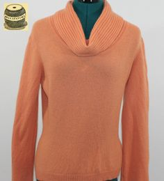 Dark Brown Cashmere Sweater with embroidered fire design ...