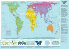 25 facts that will destroy your worldview projection mapping flat it is an equal area map showing all the countries in their proportional aka realistic sizes note greenland for an explanation of why this map looks gumiabroncs Images