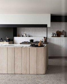 Minmalist Wood Kitchen