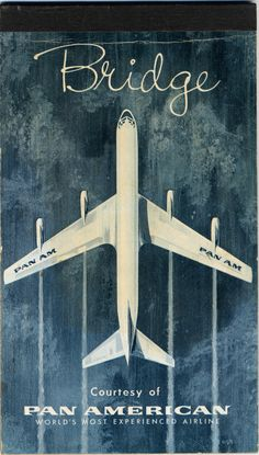 card game score sheets: Pan American World Airways Vintage Advertising Posters, Vintage Travel Posters, Vintage Advertisements, Canasta Card Game, Airplane Wallpaper, Protest Art, School Posters, Poster Ads, Aviation Art