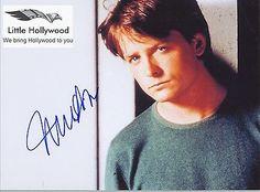 Michael-J-Fox-8x10-RP-Lustre-photo Michael J Fox, Back To The Future, Hollywood