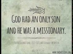 David Livingstone - Missionary to Africa - Short Biography - Ravi Zach. Mission Quotes, Spirit Lead Me, Holy Spirit, David Livingstone, Christian Quotes, Christian Faith, Gods Love, Bible Verses, Scriptures