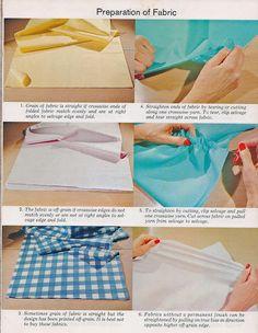 Sewing Scholar: V1C3 Fabric Preparation