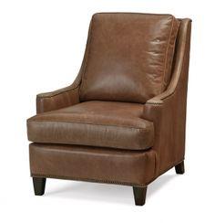 2633/L2633 - Massoud Furniture Blue Leather Chair, Armchair, Interior Design, Furniture, Home Decor, Sofa Chair, Nest Design, Single Sofa, Decoration Home