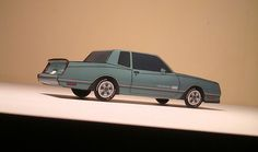 '84 Chevy Monte Carlo SS (jcarwil) Tags: car paper toys 1987 ss models chevy carlo monte ls papercraft 84 2015 aerocoupe jcarwil