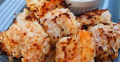 Baked Coconut Shrimp Baked Coconut Shrimp, Coconut Shrimp Recipes, Baked Shrimp, Fish Recipes, Meat Recipes, Seafood Recipes, Cooking Recipes, Recipies, Shrimp Dishes