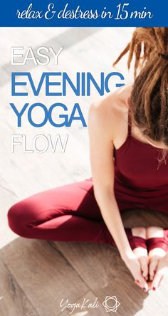 Struggling to relax before bed?This easy yoga flow for better sleep will help you wind down after a long day and get some good shut-eye in as short as 15 minutes. Kid Poses, Yoga Poses, Butterfly Pose, Sleep Yoga, Stretches For Flexibility, Healthy Lifestyle Changes, Yoga Tips, Yoga Routine, Yoga Sequences