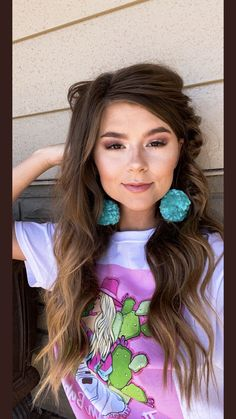 Rodeo Outfits, Western Outfits, Rodeo Clothes, Cute Outfits, Country Hairstyles, Pretty Hairstyles, Western Hair Styles, Western Style, Country Fashion