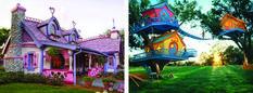 We really wanna make Damien and Harley tree houses like those!!