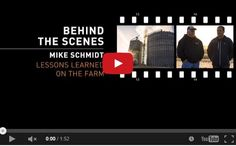 Why I Farm- Behind the Scenes- Lessons Learned on the Farm- Mike Schmidt