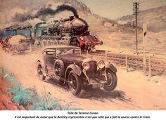 Bentley Speed Six : Barnato contre le Train Bleu