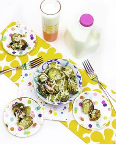 Check Out This Easy Garlic Parmesan Brussels Sprouts Recipe! #Ad #CAThrivesOnMilk