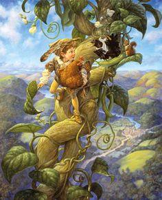 Jack & the Beanstalk by Scott Gustafson