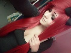 I want her hair its so pretty! Gorgeous