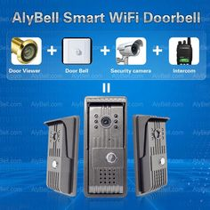 AlyBell is a new-generation Wi-Fi video doorbell, a combination of monitoring, snapshot, recording and unlocking. It's a necessary product in the smart home industry. AlyBell has 14 key features below: 1. 720P Megapixel HD camera.               2. Remote Video Activation: Video call to Smartphone when someone rings the doorbell.   3. Wi-Fi enabled.    4. Push Notification.                                                                                                                     ...