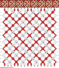 16 strings 16 rows 2 colors