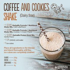 Tryout this Herbalife Nutrition meal replacement shake recipe.