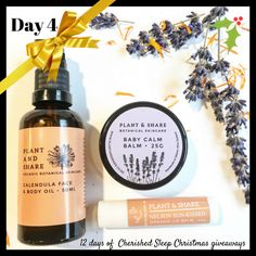 Enter to win: Plant Baby Calm, Organic Lip Balm, Christmas Giveaways, Enter To Win, Calendula, Face And Body, The Balm, Competition, Healing