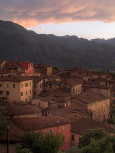 Sunset - Barga, Lucca, Tuscany, Italy