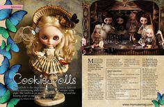 Cookie dolls on My Muse Magazine by Rebeca Cano ~ Cookie dolls, via Flickr
