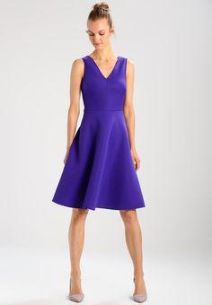 Dorothy Perkins STRIPE PROM - Korte jurk - purple - Zalando.nl