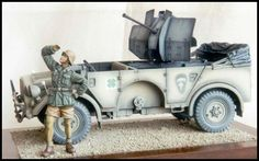 Horch 4x4 type 1a with 20mm Flak 38 Craig Buchanan