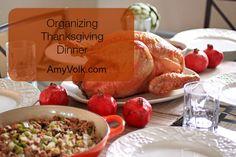 Organizing Thanksgiv