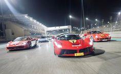 @supercarsclubarabia assemble #yas #ferrari #laferrari