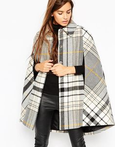 ASOS Cape in Heritage Check