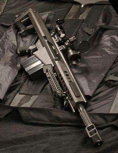 .50 caliber sniper rifle.