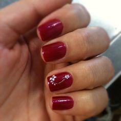 Nails Acrillic Nails, Red Nails, Nail Patterns, Finger Nails, Nail Technician, Mani Pedi, Pretty Nails, Nail Art Designs, Christmas