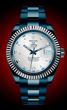 "Watch What-If: Rolex Sky-Dweller - Watch What-If"" is a special column on aBlogtoRead.com that asks the playful question ""what if an iconic watch you know and love was offered in a different style?"""