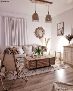Gallery of interior design of rooms in apartments, houses and offices. Photo, video, design projects and real interiors. decorating ideas for living room Living Room Decor Cozy, Boho Living Room, Interior Design Living Room, Living Room Designs, Bedroom Decor, Living Rooms, Interior Office, My New Room, Cheap Home Decor