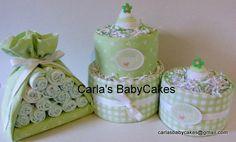 Torta de pañales, bebé cigüeña paquete, Mini torta de pañales, bebé ducha decoraciones, regalos de bebé, regalo mamá, pieza central de ducha de bebé del bebé