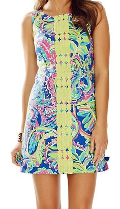 Lilly Pulitzer Delia Shift Dress in Toucan Play
