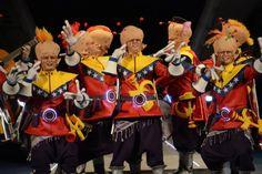 Grupo Mascarada Carnaval: La chirigota del Vera Luque trae su 'planeta rojo'...