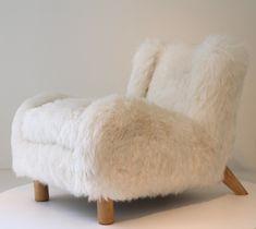 Jean Royere Fur Chair.
