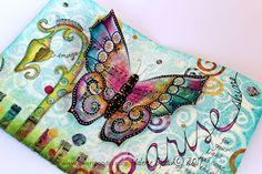 Arise! Butterfly art journal & Weekend Workshop. www.valeriesjodin.com