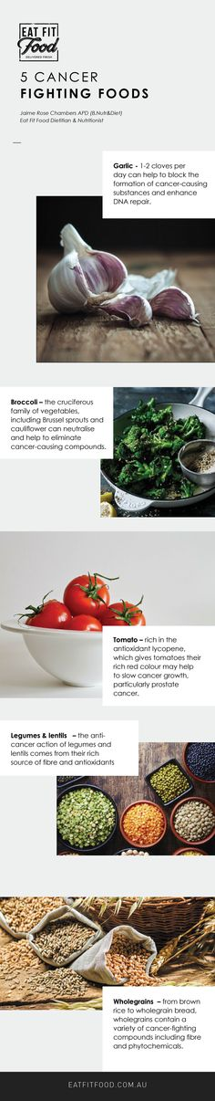 Research suggests these five common foods can help you and your family lower your risk of cancer. Read on.