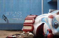 parc d'attractions abandonné - Six Flags Amusement park (Noulle-Orléans, Etats-Unis) - 2