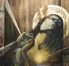 FAITH 47. #faith47 http://www.widewalls.ch/artist/faith-47/