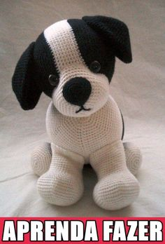 Noticias Amigurumi animal models can find many different kinds of animals, some of the… in 2020 Crochet Dog Patterns, Crochet Snowflake Pattern, Crochet Bunny Pattern, Amigurumi Patterns, Diy Crochet, Crochet Dolls, Easy Crochet Animals, Crochet Decoration, Crochet Projects