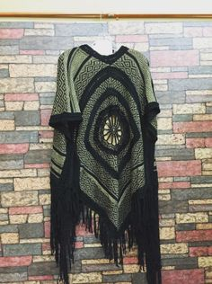 Adorable, fringed, paisley dress with criss-cross back!