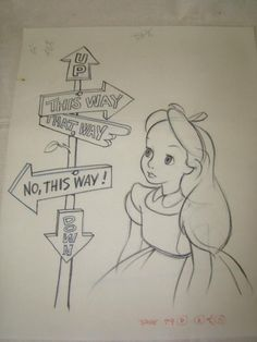 2026: 12 Alice in Wonderland Original Drawings : Lot 2026