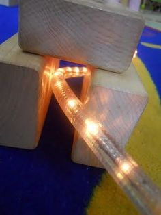 Add a light rope to the #block center. Amazing!