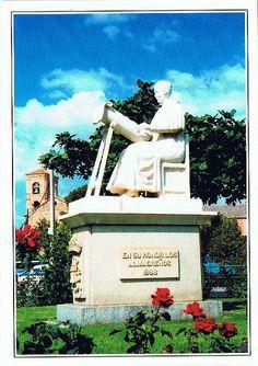 Monument in Almagro, Spain.
